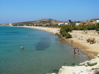 The beach at Aliki