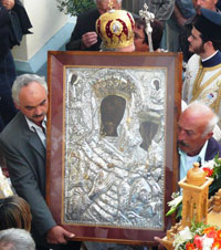 The Icon of Panagia Odigitria