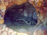Plow (Utensil) in a cave