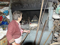 Traditional wood oven
